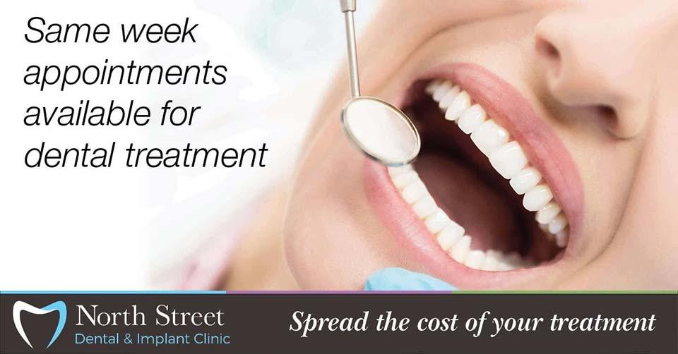 same week dental appointments